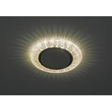 DK LD22 CHP/WH Светильник ЭРА декор cо светодиодной подсветкой Gx53, шампань Б0029623