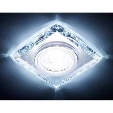 Светильник S215 CL хром/прозрачный /MR16+3W(LED COLD) S215CL