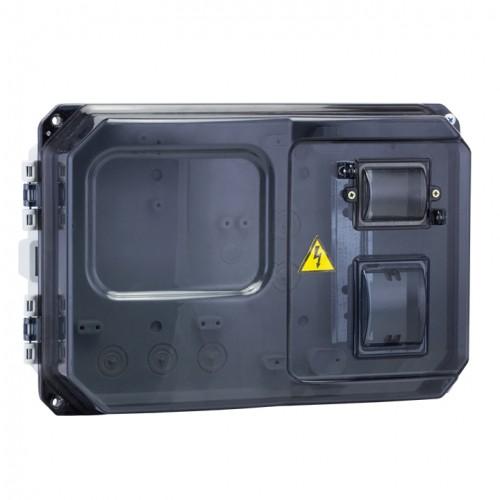 Щит учетно-распред. навесной пластик ЩУРн-П 1/5 (229х340х117) IP55 EKF PROxima pb-1/5-55