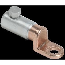 Медно-алюминиевый механический наконечник со срывными болтами АММН 10-35 до 1 кВ IEK UZA-28-S10-S35-21