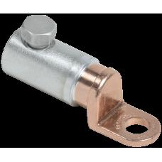 Медно-алюминиевый механический наконечник со срывными болтами АММН 50-95 до 1 кВ IEK UZA-28-S50-S95-21