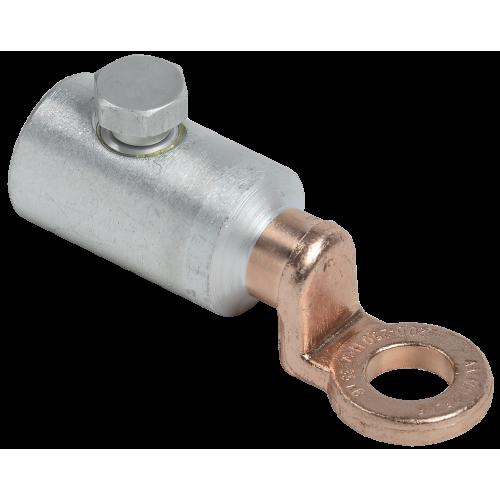 Алюминиевый механический наконечник со срывными болтами АМН 25-95 до 35 кВ IEK UZA-28-S25-S95-135