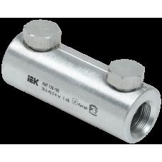 Алюминиевая механическая гильза со срывными болтами АМГ 120-185 до 1 кВ IEK UZA-29-S120-S185-1