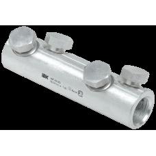 Алюминиевая механическая гильза со срывными болтами АМГ 240-300 до 1 кВ IEK UZA-29-S240-S300-1