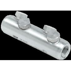 Алюминиевая механическая гильза со срывными болтами АМГ  70-240 до 35 кВ IEK UZA-29-S70-S240-35
