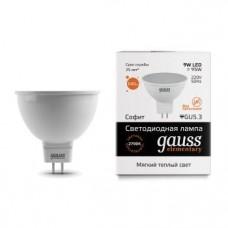 Лампа светодиодная Gauss LED Elementary MR16 9W 2700K GU5.3 13519
