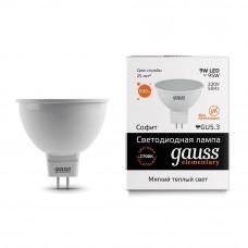 Лампа светодиодная Gauss LED Elementary MR16 9W 6500K GU5.3 13539