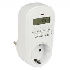 Розеточный электронный таймер SAT-20p EKF PROxima SAT-20p