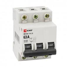 Выкл. нагрузки 3P 40А ВН-29 EKF Basic SL29-3-40-bas