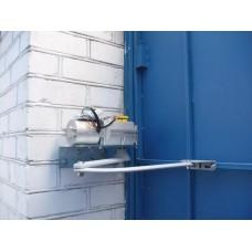 Монтаж и пусконаладка СКУД.  Монтаж и подключение электропривода на распашные ворота 1057241