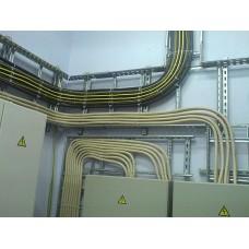 Монтаж и пусконаладка СКУД.  Прокладка кабеля в металлорукаве 1057266