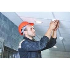 Демонтажные работы.  демонтаж охранного (пожарного) датчика 1057431