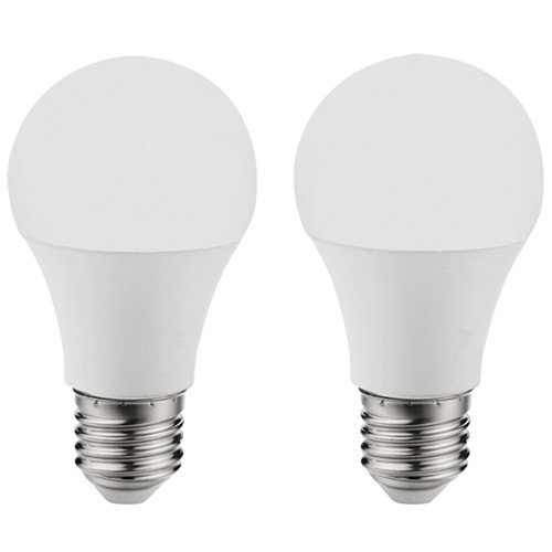 11486 Лампа светодиодная A60, 2х11W (Е27), 4000K, 1055lm,  2 шт. в комплекте 11486