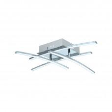 96305 Светодиод. потол. светильник NEVADO, 4х5W(LED), 4х470lm, L500, B500, Н115, алюм., хром/пластик 96305