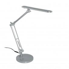 97022 Светодиод. настольн. лампа TORNOS, 5W(LED), L300, H380,  пластик, сталь, серебряный 97022