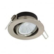 97028 Светодиод. встраив. светильник RANERA диммир., с измен. темп. света, 6W(LED), O85, алюм., нике 97028