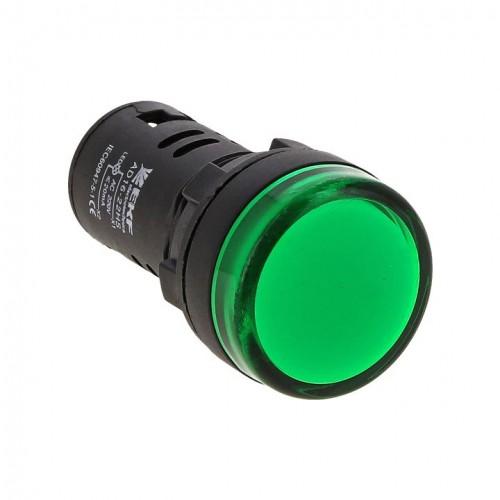 Матрица светодиодная AD16-16HS зеленый 220В (16мм) EKF ledm-ad16-16-g