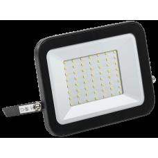 Прожектор СДО 06-50 светодиодный черный IP65 4000 K IEK LPDO601-50-40-K02
