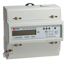 Счетчик электрической энергии СКАТ 301Э/1 - 5(60) Ш Р EKF PROxima 30101P