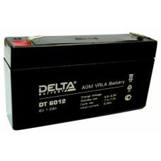 DT 6012 Аккумуляторная батарея Delta DT 6012, 6В, 1,2Ач. DT 6012