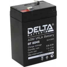 DT 6045 Аккумуляторная батарея Delta DT 6045, 6В, 4,5Ач. DT 6045