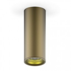 Светильник накладной HD002 12W (кофе золото) 3000K 79x200мм HD002