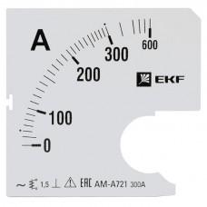 Шкала сменная для A721 300/5А-1,5 EKF PROxima s-a721-300