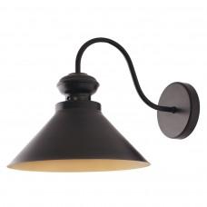 19381 Светильник Бра L=45 cм, d=33 см, 1*60Вт, Е-27, LOFT, черный 19381
