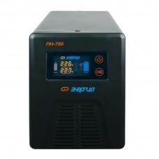 Инвертор ПН- 750   12В  450 VA   ЭНЕРГИЯ цветной дисплей Е0201-0035