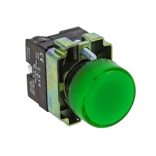 Лампа сигнальная BV63 зеленая EKF PROxima xb2-bv63