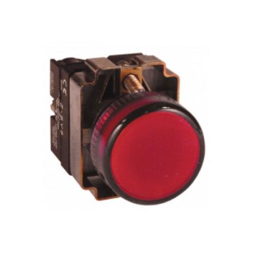 Лампа сигнальная BV64 красная EKF PROxima xb2-bv64