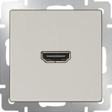Розетка HDMI /WL03-60-11 (слоновая кость) a036555