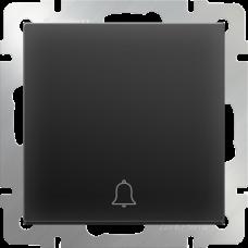 Кнопка звонка (черный матовый)/WL08-04-01 a036909