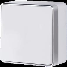 Выключатель одноклавишный проходной Gallant (белый)/WL15-01-03 a036761