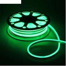 LS720 120SMD(2835)/м 9,6Вт/м 220V IP67, длина 50м, зеленый, неоновая 29564
