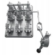 Разъединитель РПС-4 400А правый привод без ППН EKF PROxima rps-400