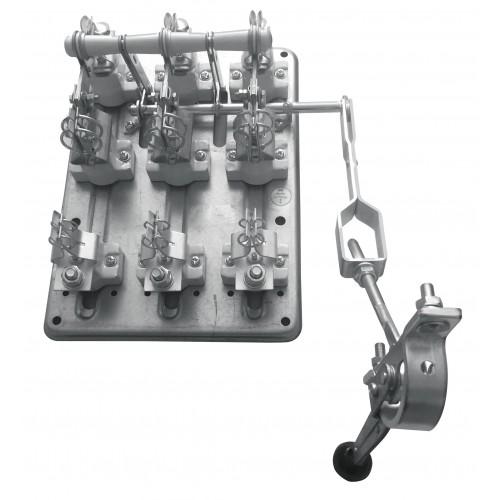 Разъединитель РПС-6 630А правый привод без ППН EKF PROxima rps-630