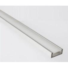 Профиль GAL-GLS-2000-7-16 (2м профиль+2м рассеиватель+2заглушки+4 скобы с шурупами 1/100) 523300