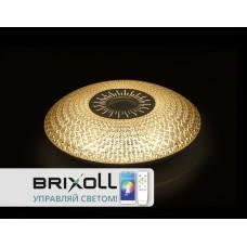 Светильник Настенно Потолочный Brixoll smart 40 w 2500lm ip 20 d 500 * 110  027 BRX-40W-027