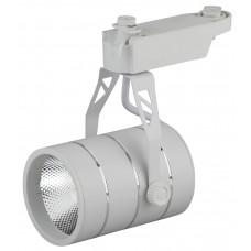 TR3 - 10 WH Трековый Светильник ЭРА 10Вт белый COB (30/360) Б0032105