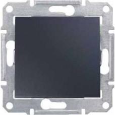 Sedna Графит Выключатель 1-клавишный 10A, 250В (сх.1) SDN0100170