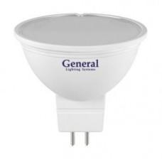 Лампа светодиодная GLDEN-MR16-10-230-GU5.3-6500 686400