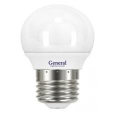 Лампа светодиодная GLDEN-G45F-10-230-E27-6500 683800
