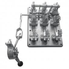 Разъединитель РПС-4 400А левый привод, без ППН EKF PROxima rps-400l