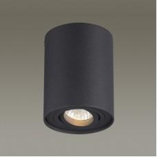 3565/1C ODL18 115 черный Потолочный накладной светильник IP20 GU10 50W 220V PILL 3565/1C