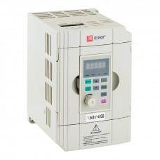 Преобразователь частоты 1,5/2,2кВт 3х400В VECTOR-100 EKF PROxima VT100-1R5-3B