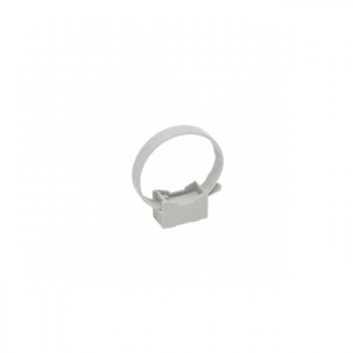 Хомутный держатель со стяжкой серый CFF2 32-63 мм IEK CTA10MP-CFF263-K41-100