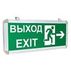 Светильник аварийно-эвакуационного освещения EXIT-102 односторонний LED EKF Proxima EXIT-SS-102-LED