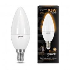 Лампа светодиодная Gauss LED Candle 9.5W E14 3000К 103101110