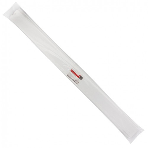 Термоусаживаемая трубка ТУТ 20/10 белая в отрезках по 1м EKF PROxima tut-20-w-1m